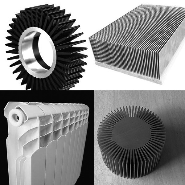 <strong>Extruded Aluminum Profile for Heat Sinks</strong>