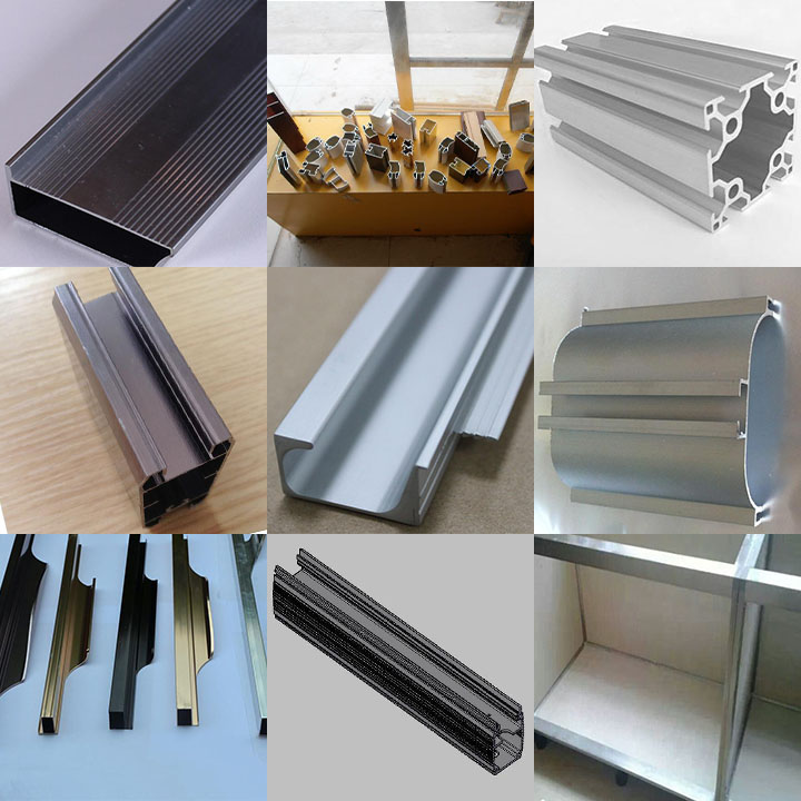China aluminum profile for kitchen cabinet