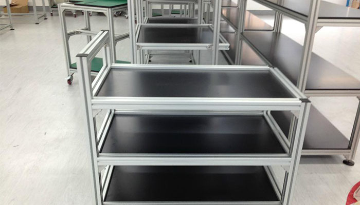 aluminium kitchen profile manufacturer